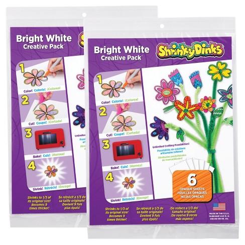 Shrinky Dinks Bright White 12 Sheet Pack - image 1 of 3