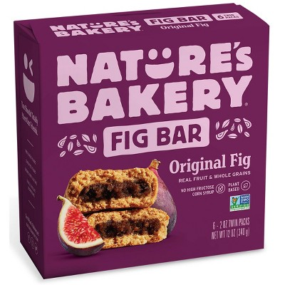 Nature's Bakery Fig Bar - 6ct