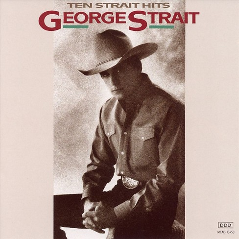 George strait - Ten strait hits (CD) - image 1 of 1