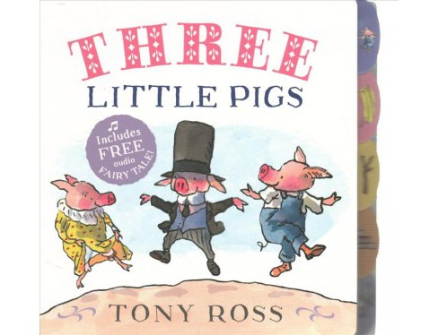 Three Little Pigs -  by Tony Ross (Hardcover) - image 1 of 1