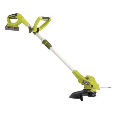 11  20V Cordless Grass Trimmer - Green - Sun Joe®