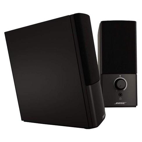 0cd43052f9c Bose® Companion® 2 Series III Multimedia Speaker System - Black  (3544951100)   Target
