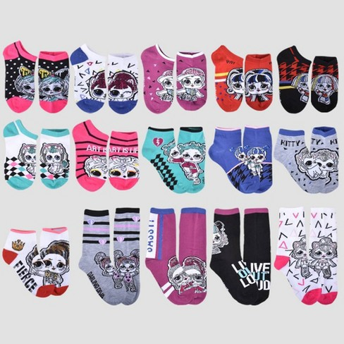 Girls' L.O.L. Surprise! 15 Days of Socks Advent Calendar - image 1 of 4