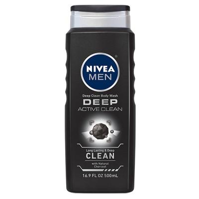 NIVEA Men Active Clean Body Wash - 16.9oz