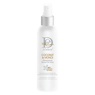 Design Essentials Natural Coconut Monoi Weightless Shine Oil Mist