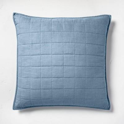 Heavyweight Linen Blend Quilted Pillow Sham - Casaluna™