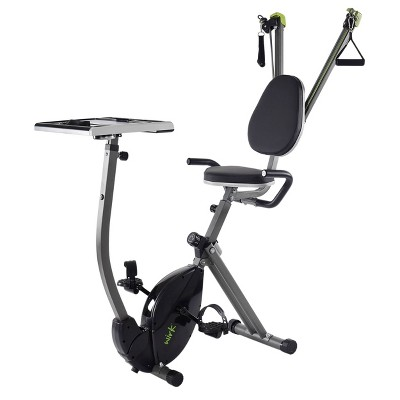 Stamina Exercise Bike with Strength System - Black