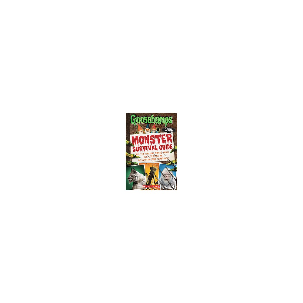 Monster Survival Guide ( Goosebumps) (Paperback) by Susan Lurie