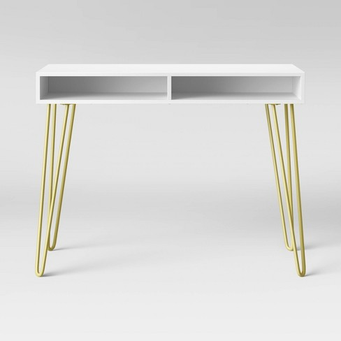 Hair Pin Writing Desk - Room Essentials™ - image 1 of 4