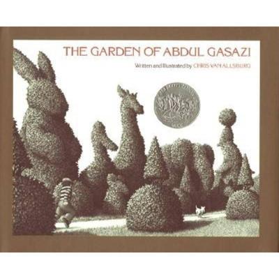 The Garden of Abdul Gasazi Trade Book - by  Chris Van Allsburg (Hardcover)