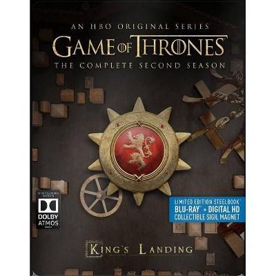 Game of Thrones: Season 2 Steelbook (Blu-ray)