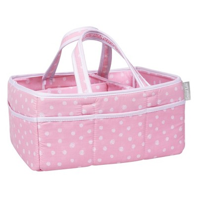 Trend Lab Storage Caddy - Pink Dot