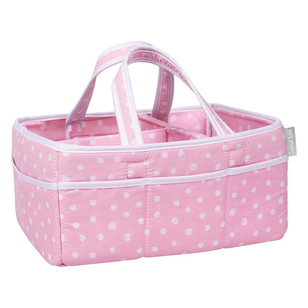 Image of Trend Lab Storage Caddy - Pink Dot