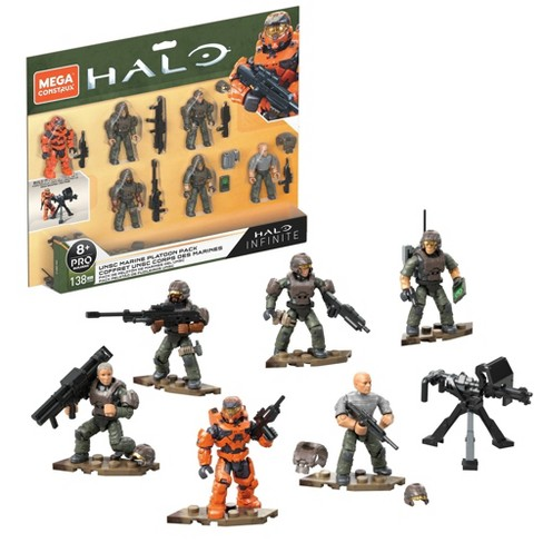 Mega Construx Halo UNSC Marine Platoon Pack - image 1 of 4