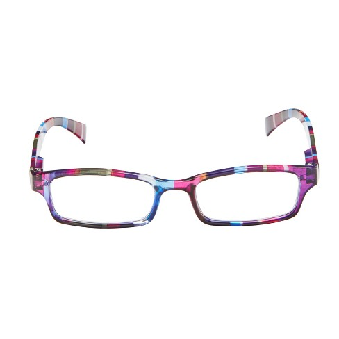 fdc66f98b892 ICU Eyewear Wink Healdsburg Purple Stripe Reading Glasses   Target