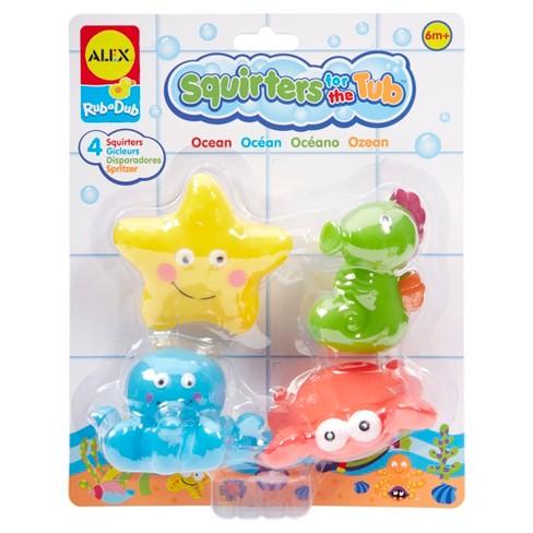 ALEX Toys Rub a Dub Bath Squirters Ocean - image 1 of 3