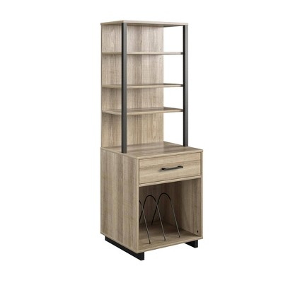 Jude Tall Vinyl Record Storage Stand - Room & Joy