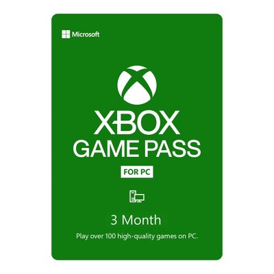 Xbox Game Pass for PC 3 Month (Digital)