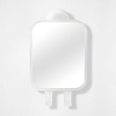 Power Lock Rectangular Mirror White - Room Essentials™