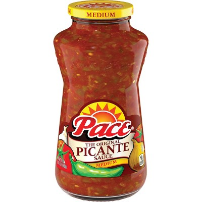 Pace Medium Picante Sauce 24oz