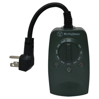 Westinghouse 2 Outlet, Outdoor Timer