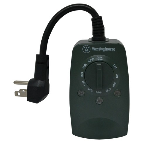 Westinghouse 2 Outlet Outdoor Timer