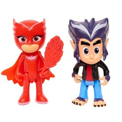 Disney PJ Masks Villains Hero And - Owlette And Howler