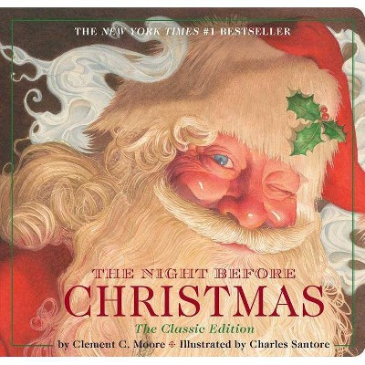 The Night Before Christmas by Clement Clarke Moore (Board Book)