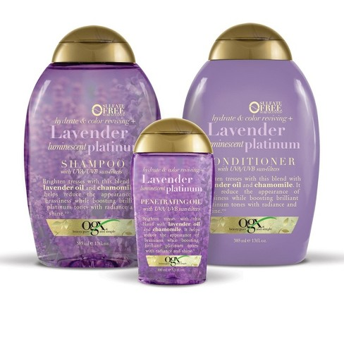 Ogx Hydrate Tone Reviving Lavender Luminescent Platinum