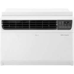 LG Electronics 14,000 BTU 115V Dual Inverter Window Air Conditioner with Wi-Fi Control