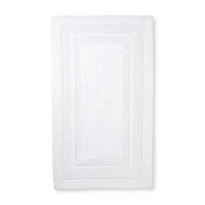"20""x34"" Performance Cotton Bath Rug White - Threshold™"