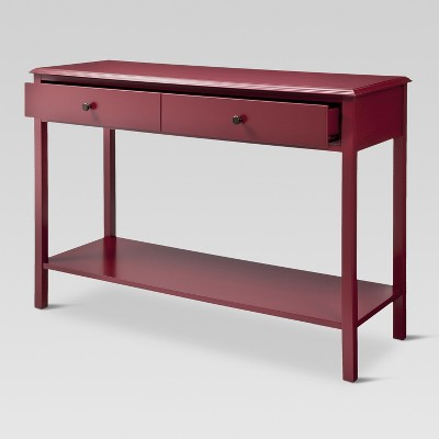 Windham Console Table Red - Threshold