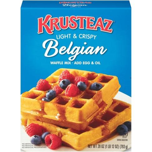 Krusteaz Belgian Waffle Mix - 28 oz - image 1 of 3