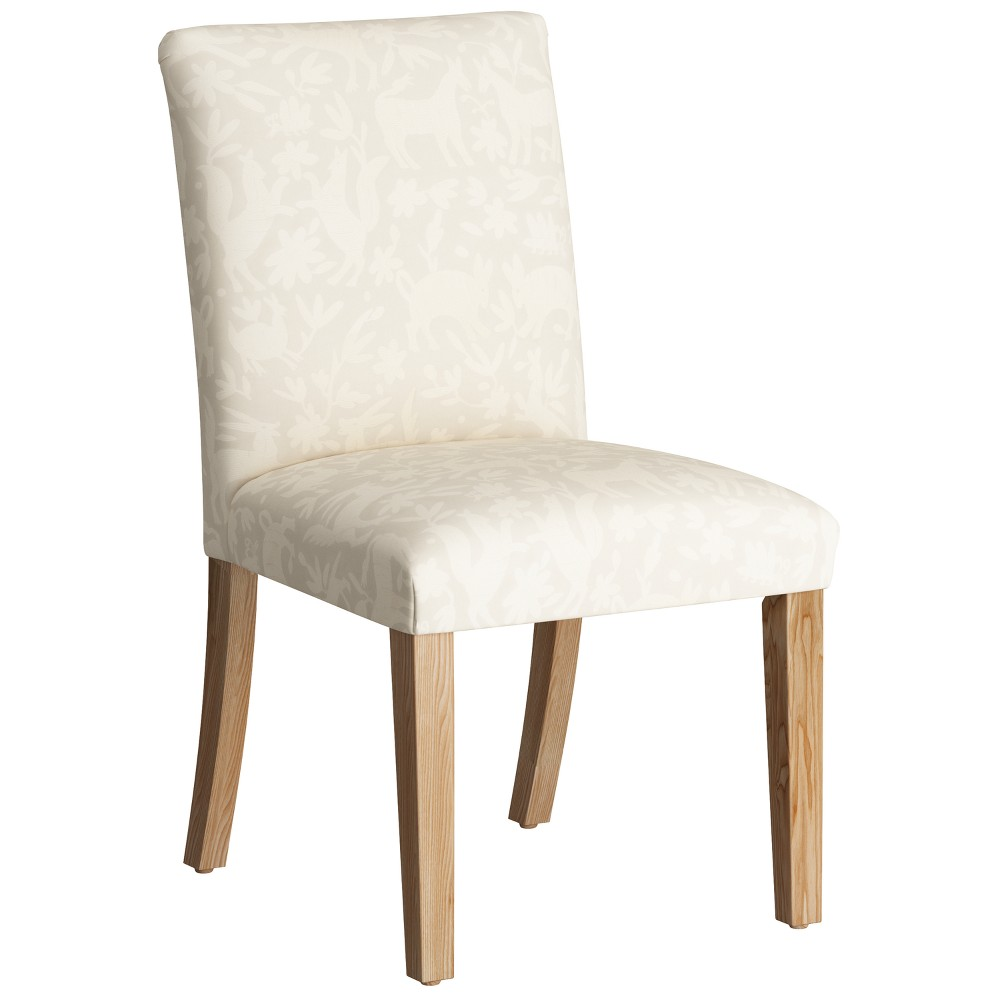 Parsons Dining Chair Pinata Cotton with Natural Legs - Threshold
