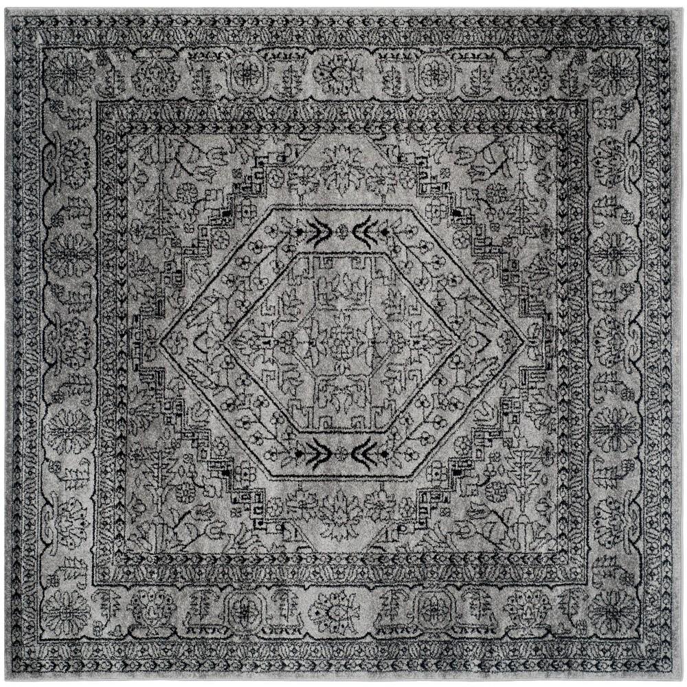 Aldwin Area Rug Silver/Black -Safavieh