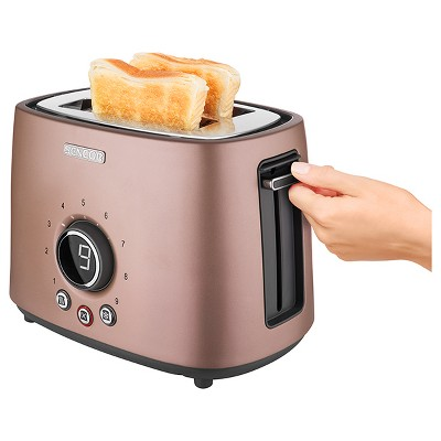 Sencor Metallic 2 Slice Toaster - Pink