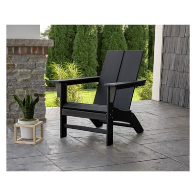Ordinaire St. Croix Contemporary Adirondack Chair   POLYWOOD
