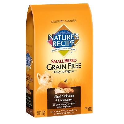 Dog Food: Nature's Recipe Grain Free Small Breed