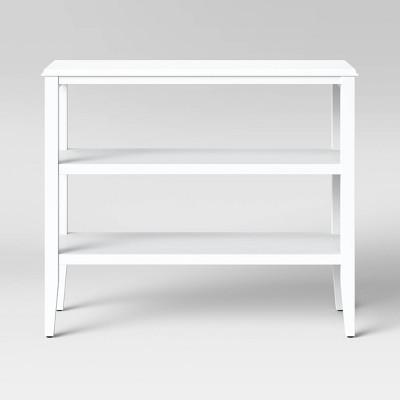 Pelham 2 Shelf Console Table White - Threshold™