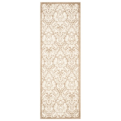 Outdoor Patio Rug - Wheat / Beige - Safavieh® - image 1 of 4