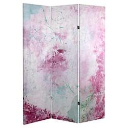 Pink Boudoir Room Divider - Oriental Furniture