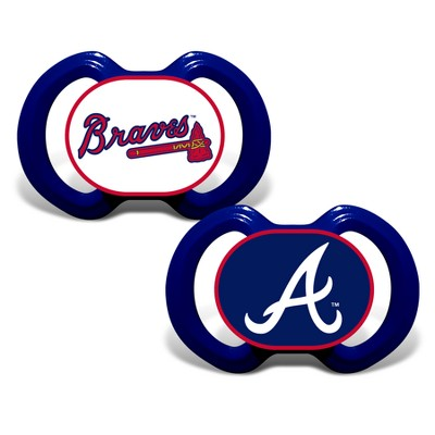 Atlanta Braves 2pk Pacifier Set