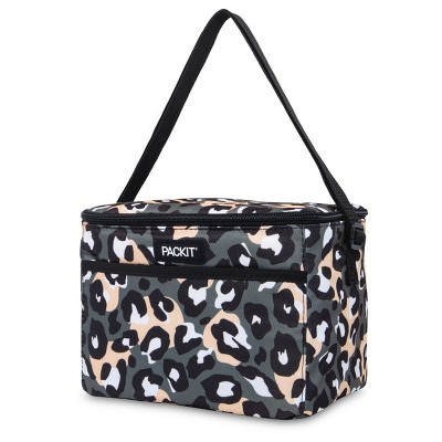 Packit Freezable Everyday Lunch Box - Wild Leopard Gray