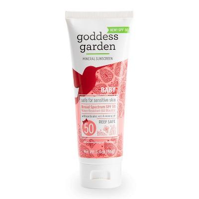 Goddess Garden Baby Sunscreen Lotion SPF 50 - 3.4oz