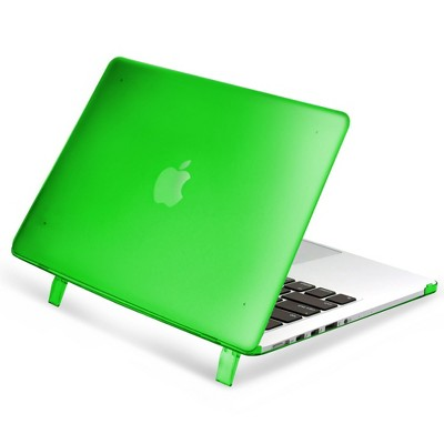 "Insten For Apple MacBook Pro 15"" with Retina Display 15.4"" A1398 Matte Rubber Coated Hard Case Cover Green"