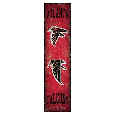 NFL Fan Creations Heritage Banner Vertical 6x24 in. Sign