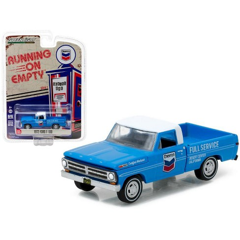 1972 Ford F-100 Chevron Pickup Truck 1/64 Diecast Model Car by Greenlight - image 1 of 1