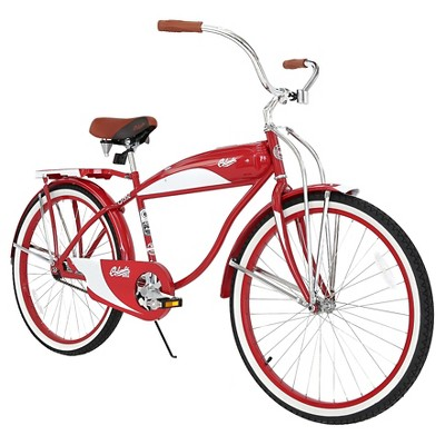 Columbia Men's 1952 Vintage 26  Cruiser Bike - Red
