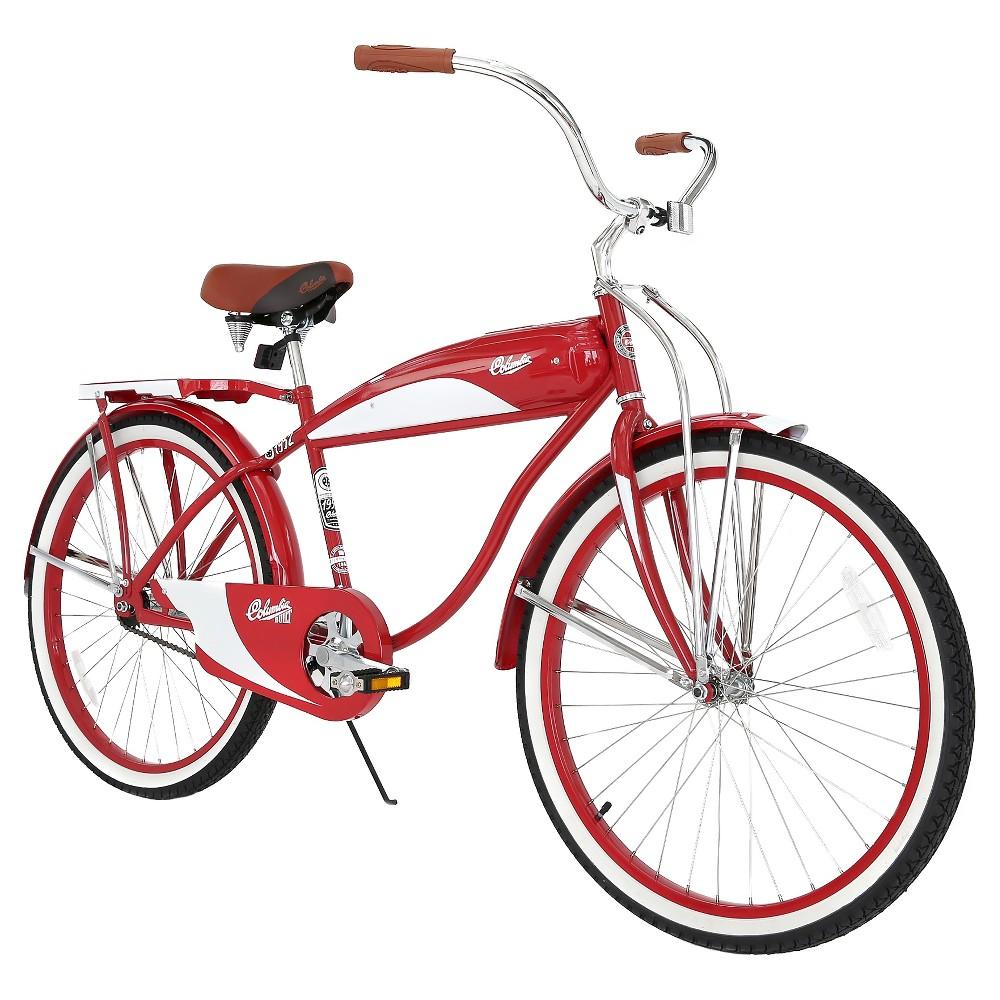Columbia Men's 1952 Vintage 26 Cruiser Bike - Red