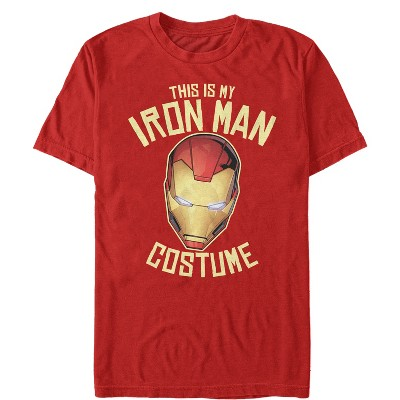 Men's Marvel Halloween My Iron Man Costume T-Shirt